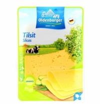 Сыр в нарезке Oldenburger Тильзитер 50% 125г