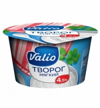 Творог Valio 4.5% мягкий, 180г