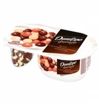 Йогурт Даниссимо Фантазия хрустящие шарики 6.9%, 105г
