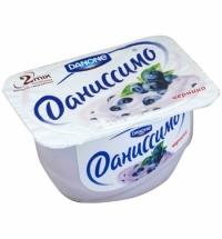 Десерт творожный Даниссимо черника 5.5%, 130г