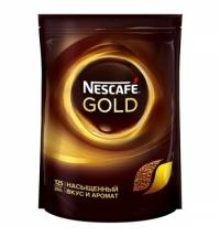 Кофе растворимый Nescafe Gold 250г пакет