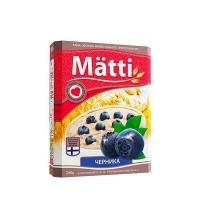 Каша овсяная Matti черника 6шт x 40г