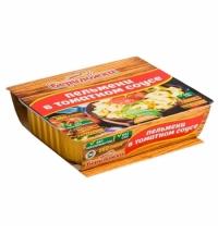 Второе блюдо Рускон Бериложка пельмени в томатном соусе 250г