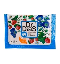 Каша льняная Dr.dias вкус клубники 18г, натуральная