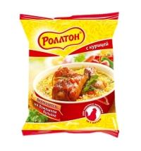 Лапша быстрого приготовления Роллтон На домашнем бульоне курица 60г