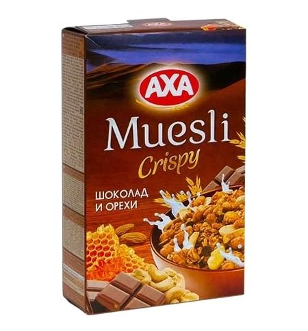 фото: Мюсли Аха шоколад-орехи 250г