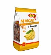 Мюсли Ого! с бананом 350г