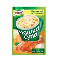 Суп Knorr куриный с сухариками 16г