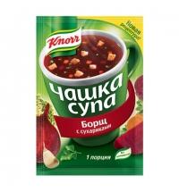 Суп Knorr борщ с сухариками 14.8г