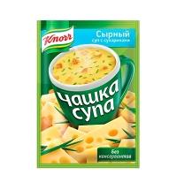 Суп Knorr сырный с сухариками 15г