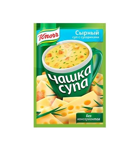 фото: Суп Knorr сырный с сухариками 15г