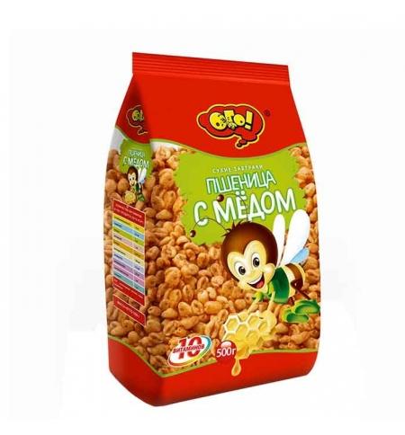фото: Готовый завтрак Ого! пшеница с медом 250г