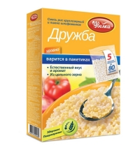 Хлопья Увелка Дружба рис и пшеница 5шт х 80г