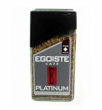 Кофе растворимый Egoiste Platinum 100г стекло
