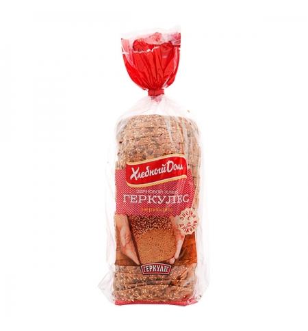 фото: Хлеб Хлебный Дом Геркулес зерновой 500г, в нарезке