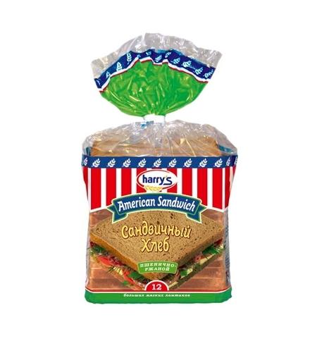 фото: Хлеб Harry's пшенично-ржаной 470г