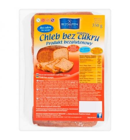 фото: Хлеб Bezgluten без сахара без глютена, 350г