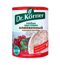 Хлебцы Dr.korner клюквенные 100г