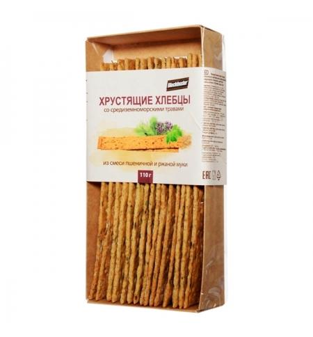 фото: Хлебцы Blockbuster со средиземноморскими травами 110г