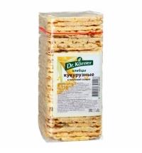 Хлебцы Dr.korner кукурузные с морской солью 130г