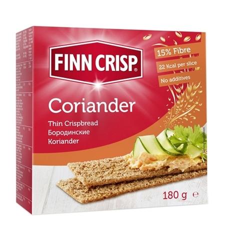фото: Хлебцы Finn Crisp с кориандром 180г