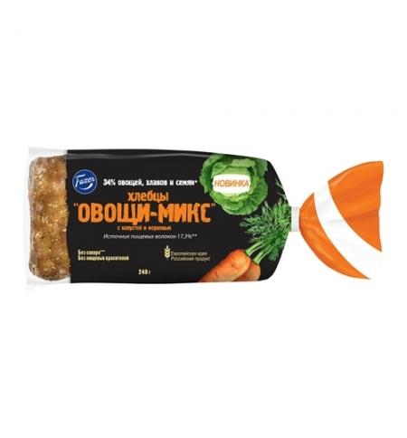 фото: Хлебцы Fazer Овощи-Микс капуста и морковь, 240г