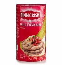 Хлебцы Finn Crisp круглые 250г, мультизерновые