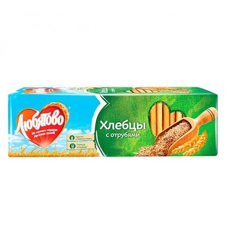 фото: Хлебцы Любятово с отрубями 185г