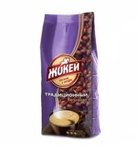 Кофе в зернах Жокей Традиционный 900г пачка