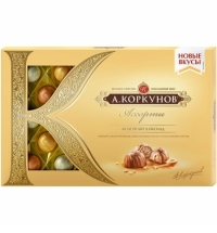 Конфеты Коркунов ассорти в молочном шоколаде 256г