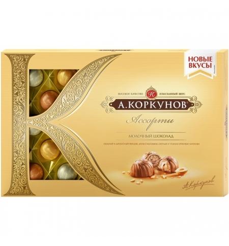 фото: Конфеты Коркунов ассорти в молочном шоколаде 256г