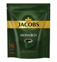 Кофе растворимый Jacobs Monarch 150г пакет