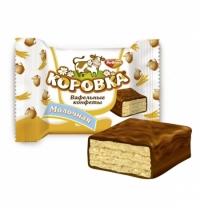 Конфеты фасованные Рот Фронт Коровка вафельная молочная 250г