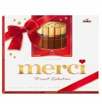 Конфеты Merci 8 видов шоколада 250г