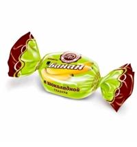 Конфеты фасованные Микаелло Банан в шоколадной глазури 3кг