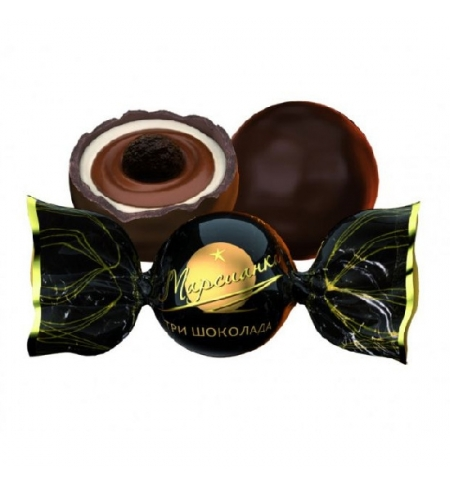 фото: Конфеты фасованные Сладкий Орешек Марсианка три шоколада 1кг