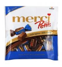 Конфеты фасованные Merci молочный шоколад 125г