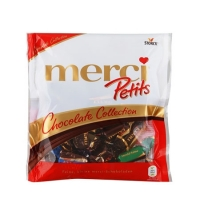 Конфеты фасованные Merci Petits ассорти, 125г