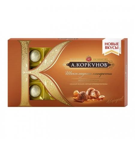 фото: Конфеты Коркунов в молочном шоколаде с орехом, 192г