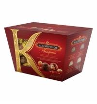 Конфеты Коркунов ассорти в темном и молочном шоколаде 137г