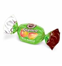 Конфеты фасованные Микаелло Груша в бело-темной шоколадной глазури 3кг