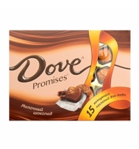 Конфеты Dove. Promises молочный 120г