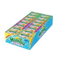 Жевательные конфеты Mamba Тропикс фруктовое ассорти 48 шт/уп