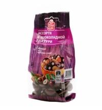 Конфеты фасованные Fine Life ассорти в шоколадной глазури 125г
