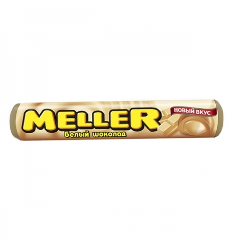 фото: Ирис Meller белый шоколад 24 шт/уп