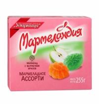 Мармелад Мармеландия ассорти 255г