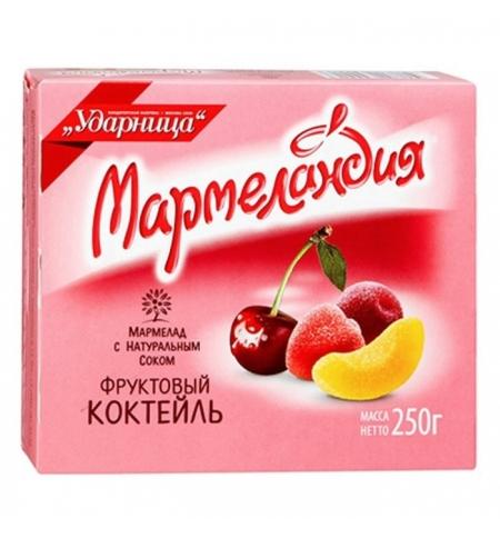 фото: Мармелад Мармеландия Фруктовый коктейль 250г