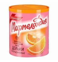 Мармелад Мармеландия апельсиновые дольки 250г