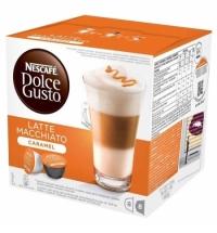 Кофе в капсулах Dolce Gusto Latte Macchiato Caramel 16шт