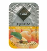 Джем Rioba Абрикос порционный, 20х20г